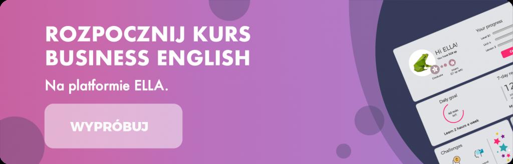 Rozpocznij kurs Business English na platformie ELLA
