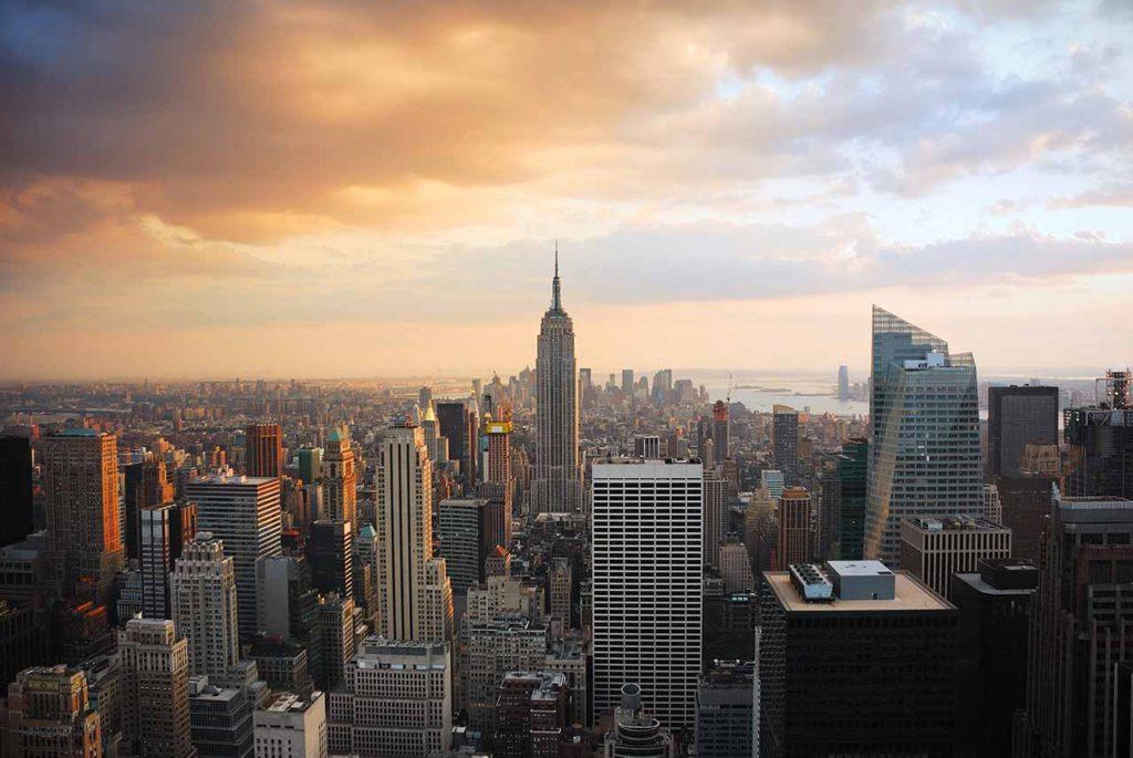 10 najpopularniejszych miejsc w USA