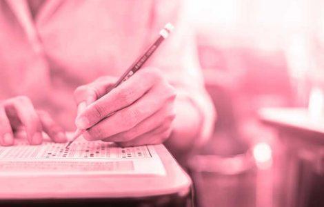 pisanie egzaminu TOEFL