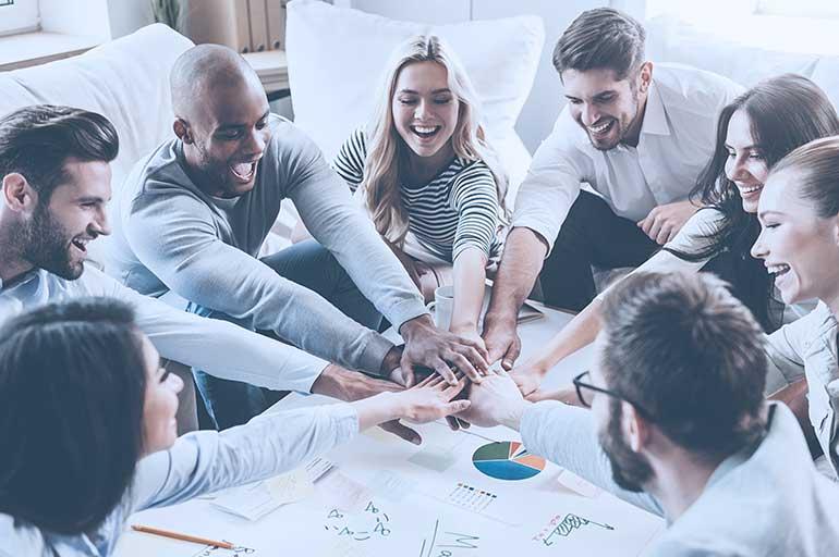 integracja kursu angielskiego w firmie