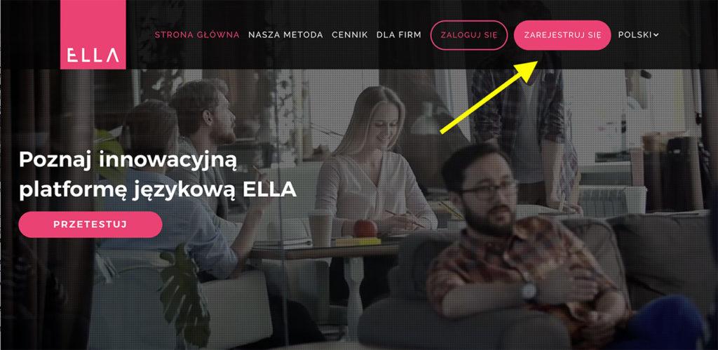 ELLA_platforma_do_nauki_angielskiego_rejestracja